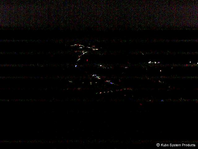 top of the mountain basin Uonuma webcam
